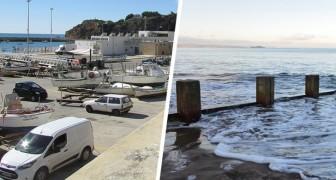 Parcheggia il furgone sulla spiaggia in divieto di sosta e quando torna lo trova sommerso dall'acqua