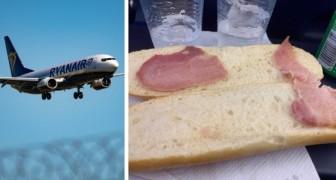 Auf einem Flug zahlte sie 5,50 € für das traurigste Sandwich der Welt: die Erfahrung einer Frau