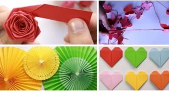 Projets avec le papier : réalisez ces créations colorées avec des tutoriels simples et rapides
