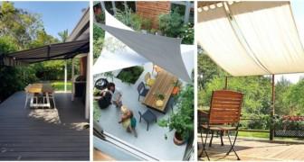 Vuoi fare ombra nel giardino o in terrazzo? Scegli la soluzione migliore