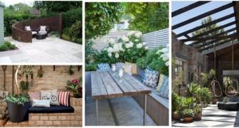 Regalati un'area confortevole in giardino dove mangiare e rilassarti: scopri le idee migliori