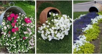 Pots renversés : de nombreuses idées pour personnaliser le jardin avec des aménagements vraiment spectaculaires