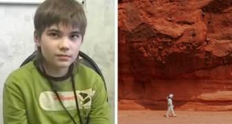 Dieser Typ sagte, er sei vom Mars gekommen, um uns wertvolle Informationen zu geben
