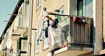 Chiama la polizia perché la vicina di casa stende l'abbigliamento intimo: vuole sedurre mio marito