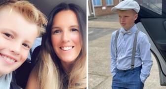 Une mère dépense 2 000 £ pour l'habillement de son fils : il refuse d'aller à l'école avec des vêtements sans marque