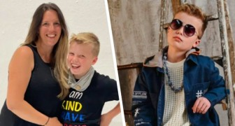 A child refuses to go to school if he can't wear designer clothes: mom spends more than £2000 on his wardrobe