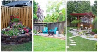 13 très bonnes astuces pour décorer avec goût tous les coins du jardin