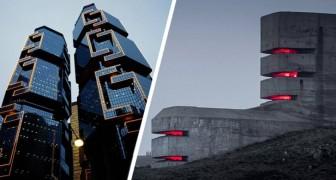 18 edifici così inquietanti che potrebbero essere le tane perfette per i cattivi di film e fumetti