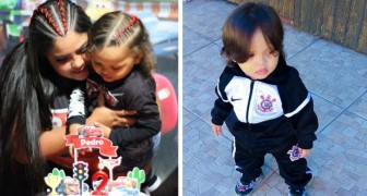 He looks like a girl: a mother is forced to defend her 2-year-old son's long hair