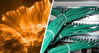 Una super-tempesta solare potrebbe causare l'apocalisse di internet sulla Terra: lo afferma una ricerca