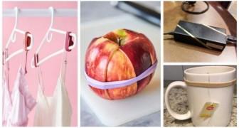 Elastici per risolvere tanti problemi: scopri gli usi alternativi di questi oggetti in casa