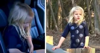 Une fillette de 5 ans sauve la vie de sa mère et de son petit frère après un accident de voiture