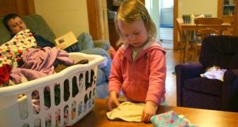 Fa pagare l'affitto alla figlia di 7 anni educandola ai lavoretti domestici: una decisione che fa discutere