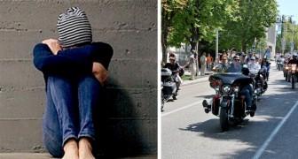 Une jeune fille est escortée par près de 300 motards au bal de fin d'année : elle était victime d'intimidations à cause de sa dyslexie