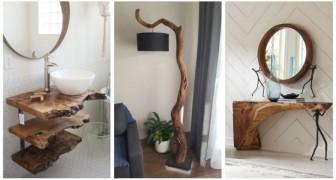 Profitez de la beauté du bois pour décorer la maison avec des meubles fascinants