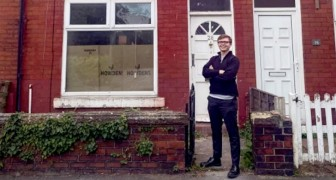 At 19 he manages to buy his first house and encourages today's young people: You can do it too!