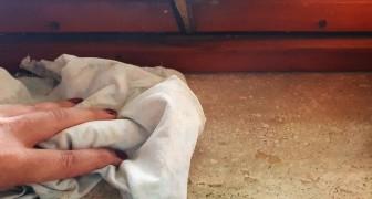 Elimina macchie e polvere dai davanzali in marmo con semplici metodi fai-da-te