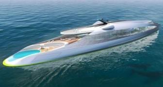 Die erste Null-Emissions-Yacht wird vorgestellt: Sie verfügt über einen Park und ein Gewächshaus