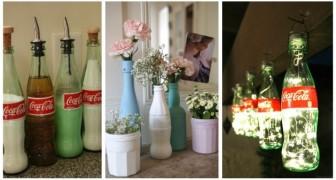 Des bouteilles de Coca-Cola pour décorer la maison : de nombreuses idées créatives à découvrir