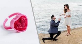 Fa la proposta alla ragazza con un anello di plastica, lei va su tutte le furie: sei esagerata e infantile