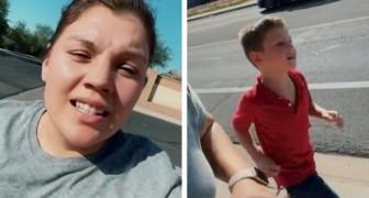 Une mère oblige son fils à courir sous le soleil à 40 degrés : une punition controversée