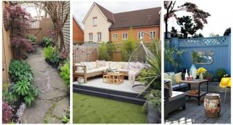 Piccolo giardino sul retro di casa? Lasciati ispirare da queste idee per trasformarlo in un angolo da sogno