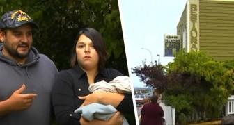 Ristoratore caccia un'intera famiglia perché la mamma stava allattando al seno: Non tornate mai più!