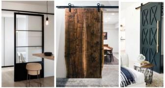 Portes coulissantes : de nombreuses solutions au design fascinant qui s'adaptent à n'importe quel style