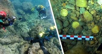 Spanje: Twee duikers vinden tijdens een duik een spectaculaire schat uit de Romeinse tijd