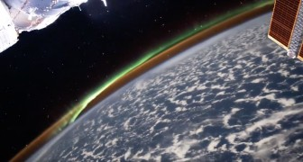 Astronauta cattura l'aurora australe dallo spazio: le immagini sono mozzafiato