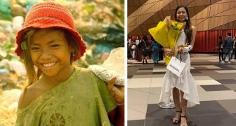 She lived on a landfill and never went to school before the age of 11: today she is a graduate and studies at university