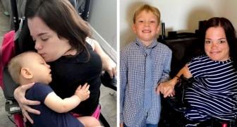 Os médicos disseram que ela não poderia ser mãe: agora, ela tem um filho de 5 anos