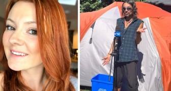 Un couple change la vie d'un sans-abri en l'invitant à vivre dans le jardin de sa maison