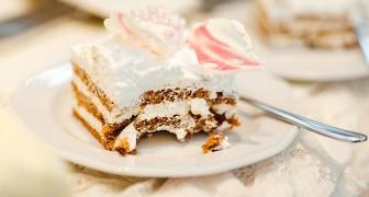 Nygifta tar £3 för varje tårtbit: de upptäcker att en gäst ter påfyllning så de ber honom om pengar