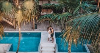 Coppia rinuncia ad un matrimonio costoso e stressante per fare 4 lune di miele