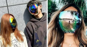Japanisches Unternehmen entwickelt Vollgesichts-Sonnenbrille: Sie bedeckt das ganze Gesicht wie ein Visier