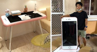 Pensa di aver comprato un iPhone a prezzo stracciato ma poi scopre che è un tavolino da caffè