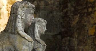 Ils découvrent qu'ils ont deux statues égyptiennes inestimables, vieilles de 2 000 ans, dans leur jardin
