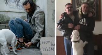 Sie freundet sich mit einem Obdachlosen an und fährt fast 1000 km, um ihn wieder mit seiner Familie zu vereinen