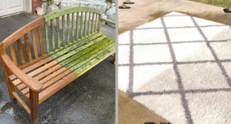 Wunderbare Reinigung: 17 Orte und Gegenstände, die von schmutzig zu neuwertig wurden