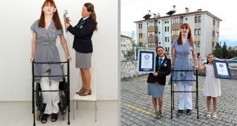 Berührende Botschaft der größten Frau der Welt: Vielfalt ist Reichtum