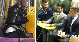 Het leven in de metro: 15 scènes van gewone waanzin die mensen wel moesten vereeuwigen