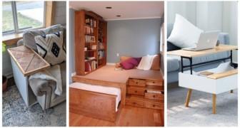 Rendi più comoda e vivibile una casa piccola aiutandoti con mobili e soluzioni d'arredo salvaspazio