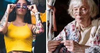 La nonna esclude dall'eredità tutte le nipoti tatuate e lascia i suoi soldi solo a quella senza tatuaggi