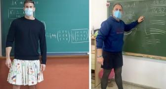 Kleding heeft geen geslacht!: sommige docenten gaan met rokken aan naar school om jongeren tolerantie te leren