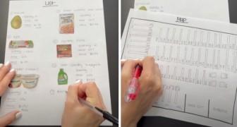 Instructions pour les courses : elle envoie son mari au supermarché avec une liste particulièrement détaillée