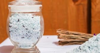 Umidità e cattivo odore nella stanza? Usa il sale profumato per deodorare e deumidificare in modo naturale