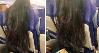 Une femme dans un avion agace les passagers par son comportement désinvolte : l'image devient virale