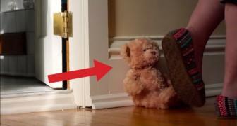 Ce qu'il se passe à ce nounours en quelques secondes vous fera sourire