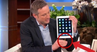 This magician picks up an iPad, what he does is AMAZING !!